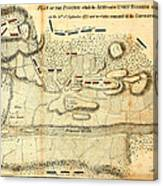 Battle Of Saratoga Canvas Print