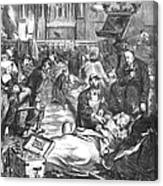 Battle Of Sedan, 1870 Canvas Print