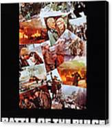 Battle Of The Bulge, Us Poster, Robert Canvas Print