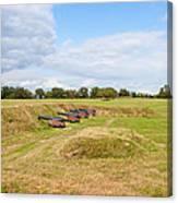 Battle Of Yorktown Battlefield Canvas Print