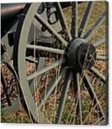 Battlefield Cannon  Canvas Print