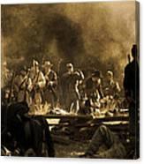 Battle's End D0426 Canvas Print