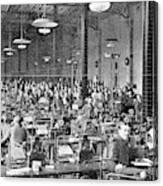 Baudot Telegraph System Canvas Print
