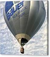 Bauer Ballon Canvas Print