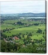 Bavarian Green Valley Canvas Print