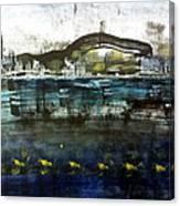 Bay Blues 006 Canvas Print