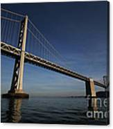 Bay Bridge Noir Canvas Print