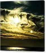 Bay Bridge Sunset Canvas Print