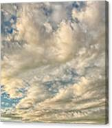 Bay Clouds Canvas Print