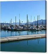 Bay In Seward Alaska Canvas Print