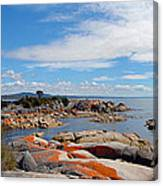 Bay Of Fires Panorama Canvas Print