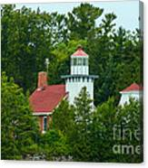 Bay Of Green Bay Lighthouse Canvas Print