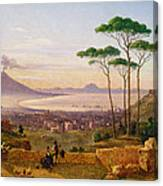 Bay Of Naples Canvas Print