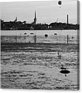 Bay Of Tallinn Canvas Print