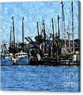 Bay Side Canvas Print