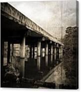 Bay View Bridge Canvas Print