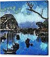 Bay View Morro Bay California Canvas Print