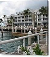 Bayfront Key West II Canvas Print