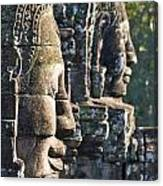 Bayon Faces - Angkor Wat - Cambodia Canvas Print