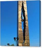 Teardrop  9 - 11 Memorial Bayonne N J Canvas Print