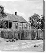 Bayou Cottage, 1938 Canvas Print