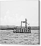 Bayou Energy - Bw Canvas Print