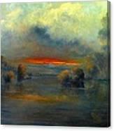 Bayou Evening 22x28 Canvas Print
