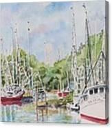 Bayou La Batre Canvas Print