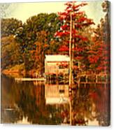 Bayou Scenery Canvas Print