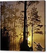 Bayou Sunrise Canvas Print