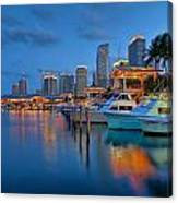 Bayside Marketplace Canvas Print