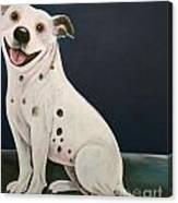 Baz The Dog Canvas Print