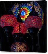 Bazaar Lights Canvas Print