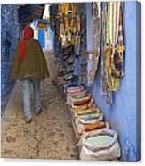 Bazaar Of Colors Canvas Print