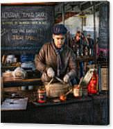 Bazaar - We Sell Tomato Sauce  Canvas Print