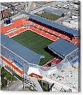 Bbva Compass Stadium In Houston Canvas Print