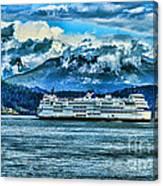 B.c. Ferries Hdr Canvas Print