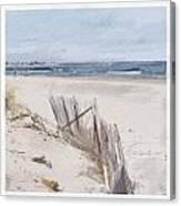 Beach-4606 Canvas Print