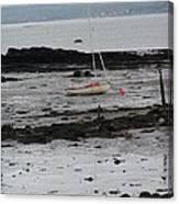 Beach At Culross Scotland Canvas Print