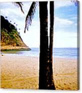 Beach At Ipanema - 2 Canvas Print