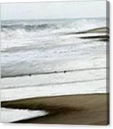 Beach At Pea Island Canvas Print