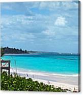 Beach At Tippy's Canvas Print