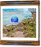Beach Ball Dreamland Canvas Print