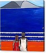 Beach Beach Day Three Canvas Print