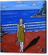 Beach Chic Canvas Print
