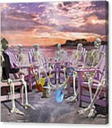 Beach Committee Canvas Print