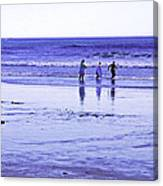 Beach Day Afternoon Canvas Print
