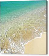 Golden Sand Beach Canvas Print