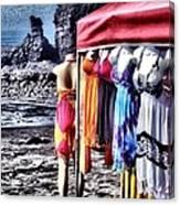 Beach Fashion Canvas Print