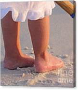 Beach Feet  Canvas Print